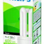 Philips Genie Ampoule basse consommation avec culot à baïonnette B22 11 W Durée 10 ans de la marque Philips image 1 produit