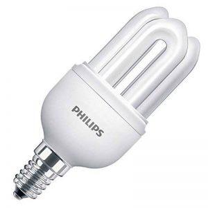 """Philips GENIE Lot de 5ampoules économie d'énergie 8W = 40W. faible, ses e14Culot à vis, lampes CFL basse consommation d'énergie, 10ans, Blanc Froid 240V Classe """"A cinq Lampes, e14 ses 8.0 wattsW de la marque Philips image 0 produit"""