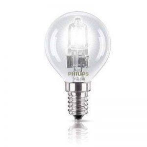 Philips gLS sES ampoules halogènes basse consommation culot e14 à petite vis, edison, ecoClassic p45, intensité variable 220–240 v 6 pièces, e14, ses, small edison screw cap 42.00|wattsW 240|voltsV de la marque Philips image 0 produit