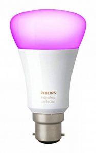 Philips Hue Ampoule connectée White and Color B22 3ème génération - Fonctionne avec Alexa de la marque Philips Lighting image 0 produit