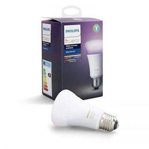 Philips Hue Ampoule connectée White and Color E27 3ème génération - Fonctionne avec Alexa de la marque Philips Lighting image 0 produit