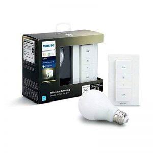 Philips Hue Dimming Kit White avec 1XE27 9,5W [Interrupteur avec Variateur Inclus] - Fonctionne avec Alexa de la marque Philips Lighting image 0 produit