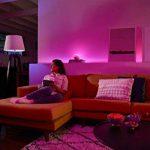 Philips Hue Go Lampe Portable White And Color Ambiance, Lampe Connectée - Lampe Led à Poser et à Variation de Couleurs - Fonctionne avec Alexa de la marque Philips Lighting image 3 produit