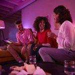 Philips Hue Kit de démarrage White and Color Ambiance avec 3xE27 10W [pont et interrupteur avec variateur inclus], un kit de lampes connectées - Ampoules à variation de couleurs - Fonctionne avec Alexa de la marque Philips Lighting image 1 produit
