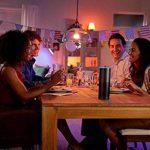 Philips Hue Kit de démarrage White and Color Ambiance avec 3xE27 10W [pont et interrupteur avec variateur inclus], un kit de lampes connectées - Ampoules à variation de couleurs - Fonctionne avec Alexa de la marque Philips Lighting image 4 produit