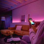 Philips Hue Kit de Démarrage White And Color Ambiance avec 3XGu10 6,5W [Pont et Interrupteur avec Variateur Inclus], Un Kit de Lampes Connectées - Ampoules à Variation de Couleurs - Fonctionne avec Alexa de la marque Philips Lighting image 4 produit