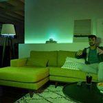 Philips Hue Ruban Lumineux Lightstrip Extension White And Color Ambiance de 1Mètres, Bande Flexible Lumineuse Contrôlée Par Smartphone - Lampe Led à Variation de Couleurs - Fonctionne avec Alexa de la marque Philips Lighting image 4 produit