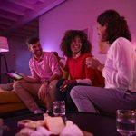 Philips Hue Ruban Lumineux Lightstrip Extension White And Color Ambiance de 1Mètres, Bande Flexible Lumineuse Contrôlée Par Smartphone - Lampe Led à Variation de Couleurs - Fonctionne avec Alexa de la marque Philips Lighting image 2 produit