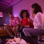 Philips Hue Ruban Lumineux Lightstrip White And Color Ambiance de 2Mètres, Bande Flexible Lumineuse Contrôlée Par Smartphone - Lampe Led à Variation de Couleurs - Fonctionne avec Alexa de la marque Philips Lighting image 2 produit