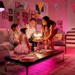 Philips Kit de démarrage 3 ampoules Hue White and Color E27 + pont de connexion Hue 2ème génération de la marque Philips Lighting image 4 produit
