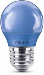 Philips lampe à LED, E27, Party éclairage, idéal pour la fête, gouttes, Plastique, bleu, E27, 3.1 wattsW de la marque Philips image 0 produit