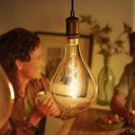 Philips LED classique géant A165non dimmable Ampoule, E27, 5W, Doré de la marque Philips image 4 produit