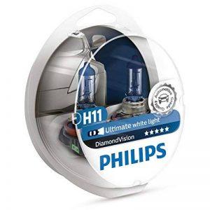 Philips Lot de 2 ampoules de phare H11 Diamond Vision de la marque Philips image 0 produit