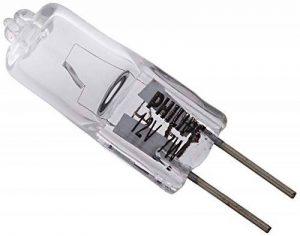 Philips Lot de 2 Ampoules EcoHalogène Culot G4 7 Watts consommés Equivalence incandescence : 10W (Ref: 925701917104) de la marque Philips Lighting image 0 produit