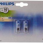 Philips Lot de 2 Ampoules EcoHalogène Culot G4 7 Watts consommés Equivalence incandescence : 10W (Ref: 925701917104) de la marque Philips Lighting image 1 produit