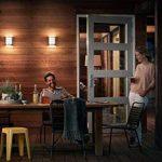 Philips luminaire extérieur LED applique murale avec détection Python inox lumière blanc chaud de la marque Philips Lighting image 2 produit