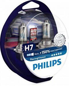 Philips RacingVision 0730253 150% Ampoule Phare H7 12972RVS2, paquet de 2 de la marque Philips image 0 produit