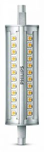 Philips Tube LED Culot R7s, 14W Équivalent 120W, Blanc, Intensité Réglable de la marque Philips Lighting image 0 produit