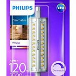 Philips Tube LED Culot R7s, 14W Équivalent 120W, Blanc, Intensité Réglable de la marque Philips Lighting image 1 produit