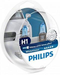 Philips WhiteVision 12258WHVSM Effet Xénon H1 pour Éclairage Avant, Set de 2 de la marque Philips image 0 produit