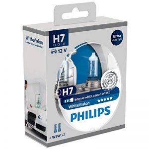 Philips WhiteVision 12972WHVSM Effet Xénon H7 pour Éclairage Avant, Set de 2 de la marque Philips image 0 produit