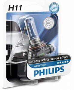 Philips WhiteVision effet xénon H11 pour éclairage avant 12362WHVB1, blister de 1 de la marque Philips image 0 produit
