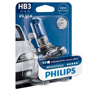 Philips WhiteVision effet xénon HB3 pour éclairage avant 9005WHVB1, blister de 1 de la marque Philips image 0 produit
