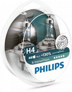 PHILIPS XTREME VISION +130 H4 Ampoules de Phare Avant Origine (2PCS) 12342XV +S2 de la marque Philips image 0 produit