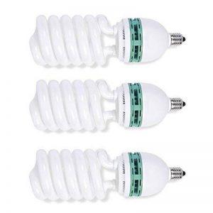 Phot-R 3X 675W (135W) 220V 5500K E27 Socket CFL Spiral Daylight Continue Balanced d'économie d'énergie Ampoules fluorescentes pour Photographie Photo Professional Video Studio Lighting de la marque Phot-R image 0 produit