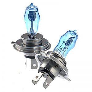 Pixnor H4 12V 100W/90W 6000K Super lumineux blanc lumière Xenon ampoules lampe phare - une paire de la marque WINOMO image 0 produit