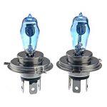 Pixnor H4 12V 100W/90W 6000K Super lumineux blanc lumière Xenon ampoules lampe phare - une paire de la marque WINOMO image 2 produit