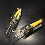 Pocketman 10 Pack 3W G4 LED Ampoule à incandescence, Base bi-broches 2xFilament COB Dimmable LED, Equivalent à 20W Ampoule halogène, AC / DC 12V, Blanc chaud [Classe énergétique A +] de la marque POCKETMAN image 2 produit