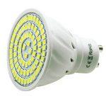 Pocketman 10X GU10 5W Ampoules LED Lampe Bulb 80 LED 3528 SMD LED Spot Ampoule Lampe 450LM Super Lumineux, Blanc Chaud (3000K),AC 220V,120 °Angle de Faisceau de la marque POCKETMAN image 3 produit