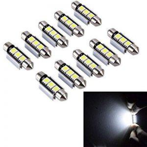 PolarLander 10pcs 2SMD Canbus 36mm 5050 LED C5W Led Dome Lights Lampes de plaque d'immatriculation Sourcing Ampoules de lecture Lampe de toit de la marque PolarLander image 0 produit