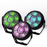 Portique et Pack 4 Jeux de Lumière FestiNight PARBALL 6 à LED RVB 6x1W Etrier fixation Mode auto/sound de la marque Festinight image 3 produit
