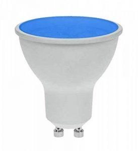 Pro-Lite 7W GU10Ampoule LED Couleur Bleue Twist et Lock non dimmable de la marque ProLite image 0 produit