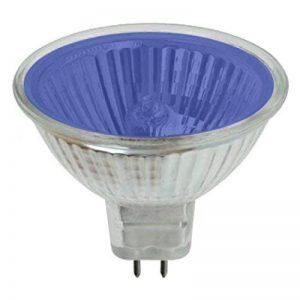 Pro-Lite halogènes MR1620W Bleu Ampoule spot (couleur, basse tension, GU5.3, G5.3) de la marque Ritelite (Systems) Ltd image 0 produit