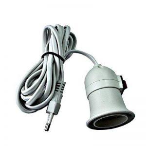 prodigitalprolunga Douille avec interrupteur porte lampe culot e27(culot gros) et indiqué pour seulement ampoules à lED 220V e27conduit ampoule avec interrupteur de la marque prodigital image 0 produit