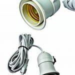 prodigitalprolunga Douille avec interrupteur porte lampe culot e27(culot gros) et indiqué pour seulement ampoules à lED 220V e27conduit ampoule avec interrupteur de la marque prodigital image 1 produit