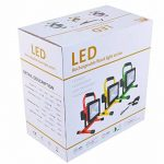 Projecteur LED 50W lampe de travail avec batterie blanc froid Projecteur Jaune Fine main Lampes Projecteur portable rechargeable IP6550W Blanc Froid de la marque SLPRO image 1 produit