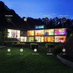Projecteur LED intelligent WiZ Quest connecté par WiFi. Noir mat. Réglage de l'intensité lumineuse, 64000 nuances de blanc, 16 millions de couleurs. Fonctionne avec Amazon Alexa et Google Home. de la marque WiZ image 3 produit