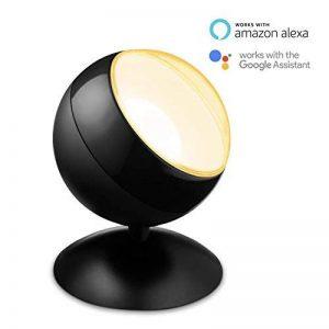 Projecteur LED intelligent WiZ Quest connecté par WiFi. Noir mat. Réglage de l'intensité lumineuse, 64000 nuances de blanc, 16 millions de couleurs. Fonctionne avec Amazon Alexa et Google Home. de la marque WiZ image 0 produit