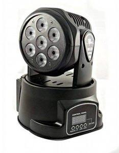 Projecteur RGB LED Wash DMX tête rotative Mobile Effets Disco 7LEDs 10W de la marque OEM image 0 produit