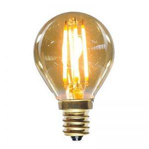 PureLume Ampoule Edison Squirrel E14à LED Ampoules Globe (4W, E14240V) Nostalgie et antique éclairage décoratif de la marque Purelume image 0 produit