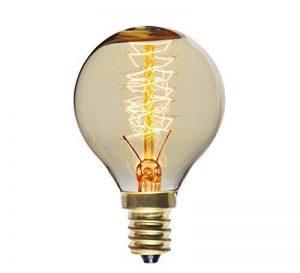 PureLume edison vintage squirrelGlobe ampoule 25 w e14, 110–240 v formé à la main. idéal pour la nostalgie et rétro éclairage de la marque Purelume image 0 produit