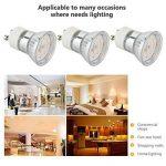 Pursnic Ampoule LED GU10 3W, blanc froid 6000K idéal pour remplacer le spot halogène GU10 Spot Led avec 2 ans de garantie, paquet de 6 unités de la marque Pursnic image 3 produit