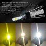QLL 2xT9 LED phares Voiture Ampoules,Etanche IP65 60W 8000LM Car Headlight LED Véhicule Blanc Pur 6000K Tout-en-Un kit de Conversion, H1 de la marque QLL image 4 produit