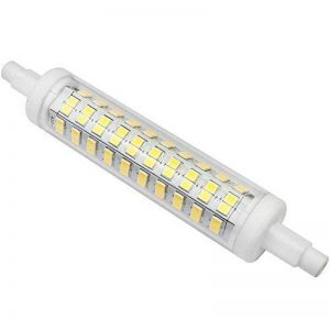 R7s LED Kakanuo 10W 118mm 1200 lm Blanc Froid 6000k 100-265V Remplacement Ampoule Projecteur Spot Non-Dimmable Non scintillement de la marque Kakanuo image 0 produit