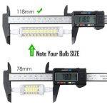 R7s LED Kakanuo 10W 118mm 1200 lm Blanc Froid 6000k 100-265V Remplacement Ampoule Projecteur Spot Non-Dimmable Non scintillement de la marque Kakanuo image 2 produit