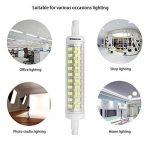R7s LED Kakanuo 10W 118mm 1200 lm Blanc Froid 6000k 100-265V Remplacement Ampoule Projecteur Spot Non-Dimmable Non scintillement de la marque Kakanuo image 4 produit
